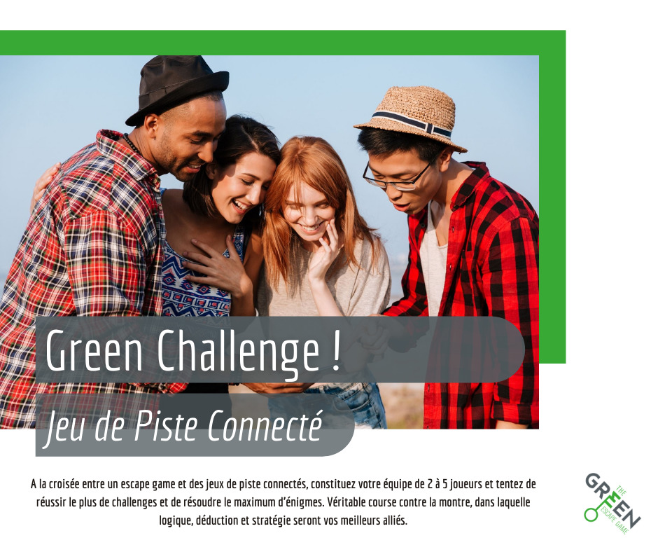 The Green Escape Game : Green Challenge en outdoor